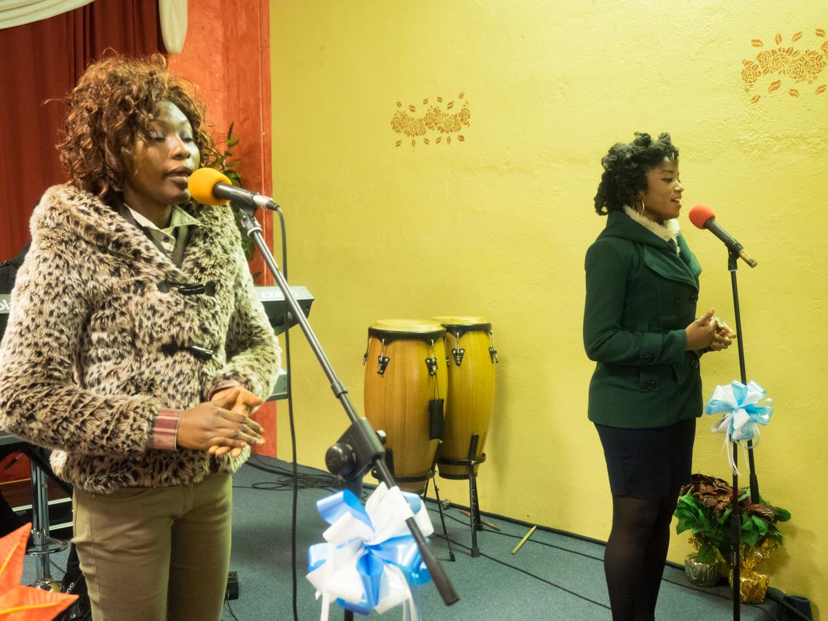 Anna Opoku and Nina Nkansah