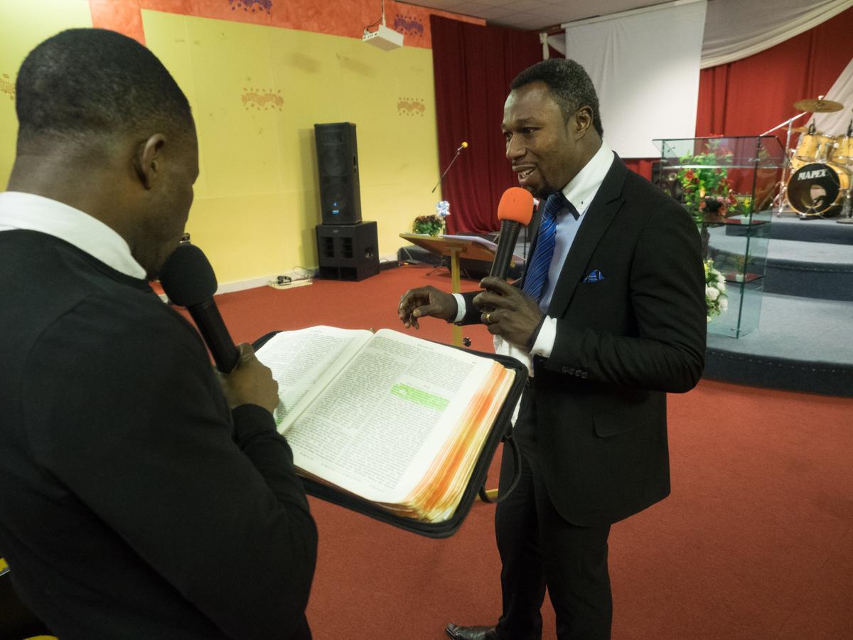 The pastor - Charles Sarfo Boadi