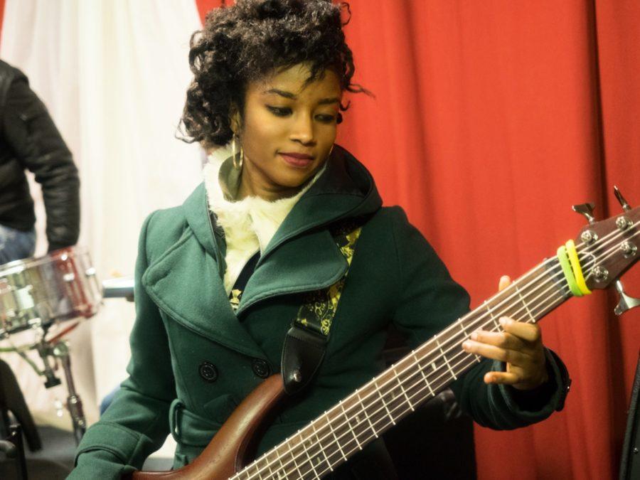 NIna Nkansah great bass player and singer