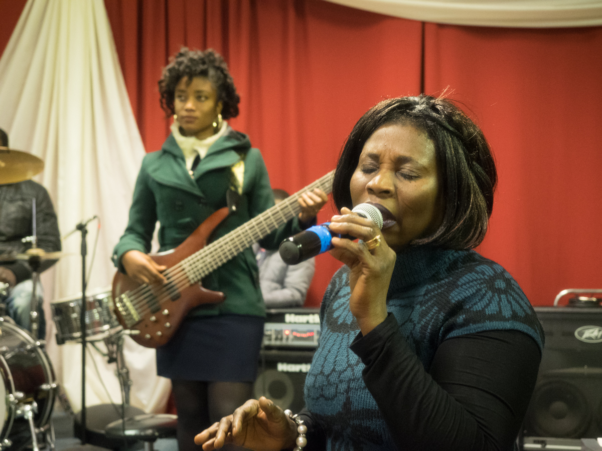 Rose Boadu (voice) and Nina Nkasah (bass)