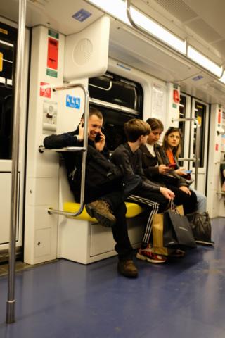 #smartphones #MM #Milan #Italy #streetphotography #underground #x100f #fujifilm #jpg